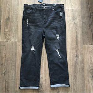 Fashion Nova Curve Boyfriend Jeans